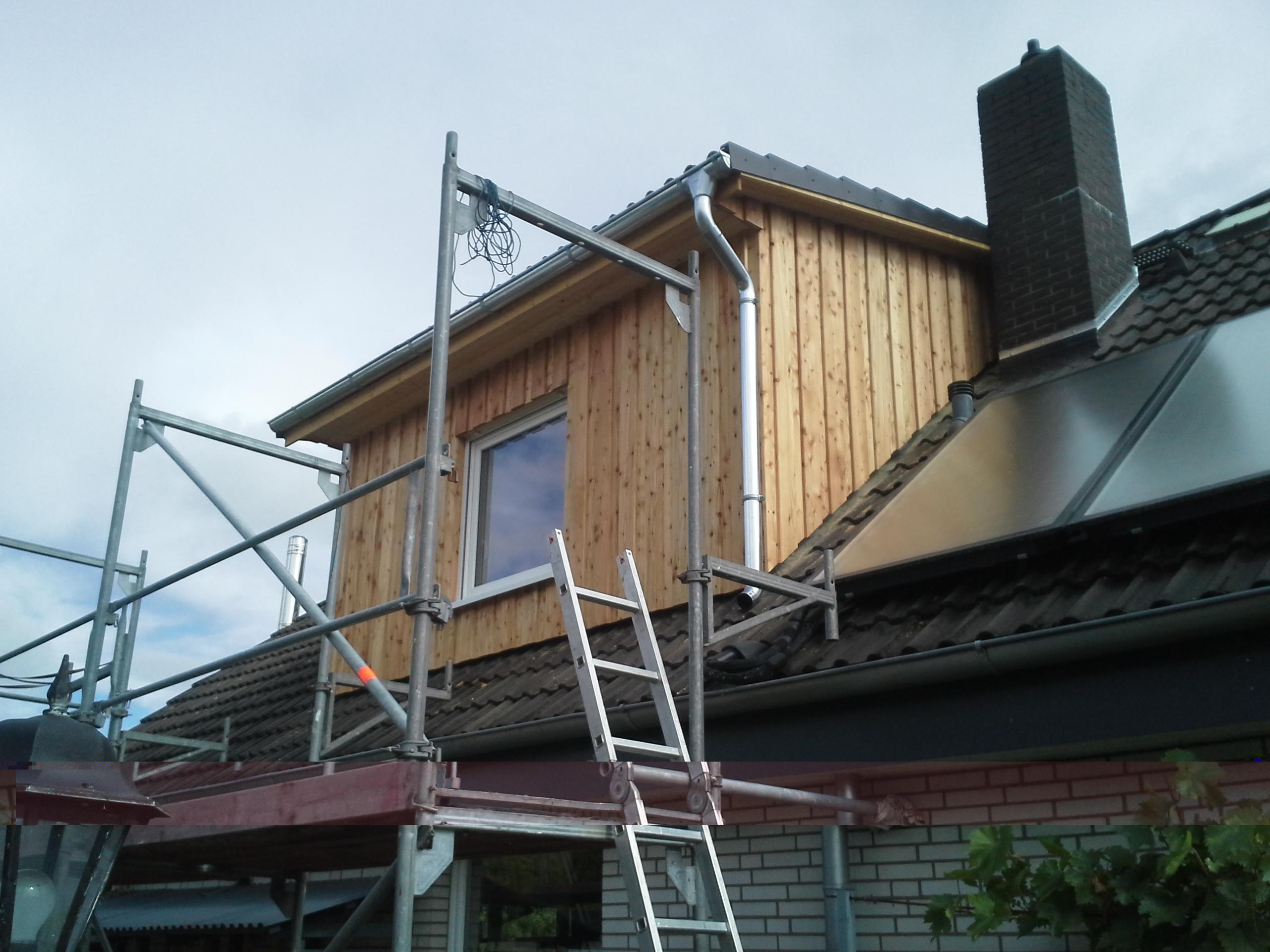 Dachfenster verkleiden  Leistungen
